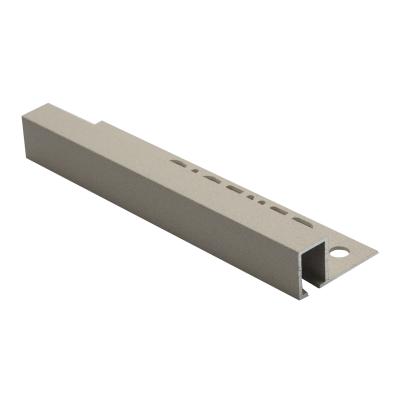 Square Edge Smart Textured Bath Stone TDP Aluminium 2.5m By Genesis