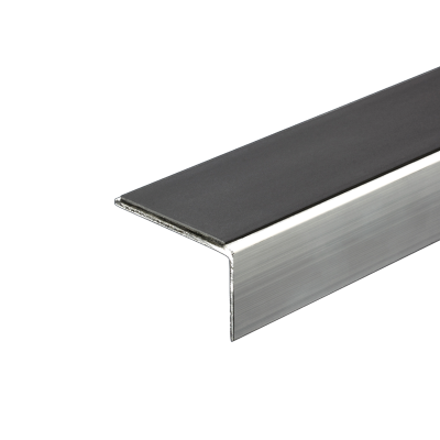 Aluminium Retro Fit Stair Nosing 2.77m Length (multiple choice of colour) by Genesis