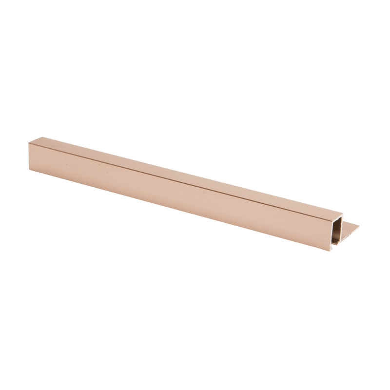 Square Edge Light Copper Tile Trim TDP by Genesis