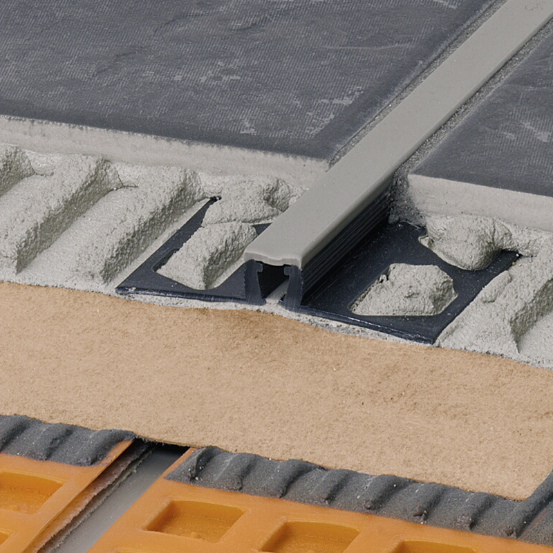 DILEX-BWB PVC Expansion Joint (Grey Insert) By Schluter