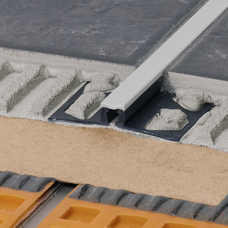 DILEX-BWB PVC Expansion Joint (Pastel Grey Insert) By Schluter