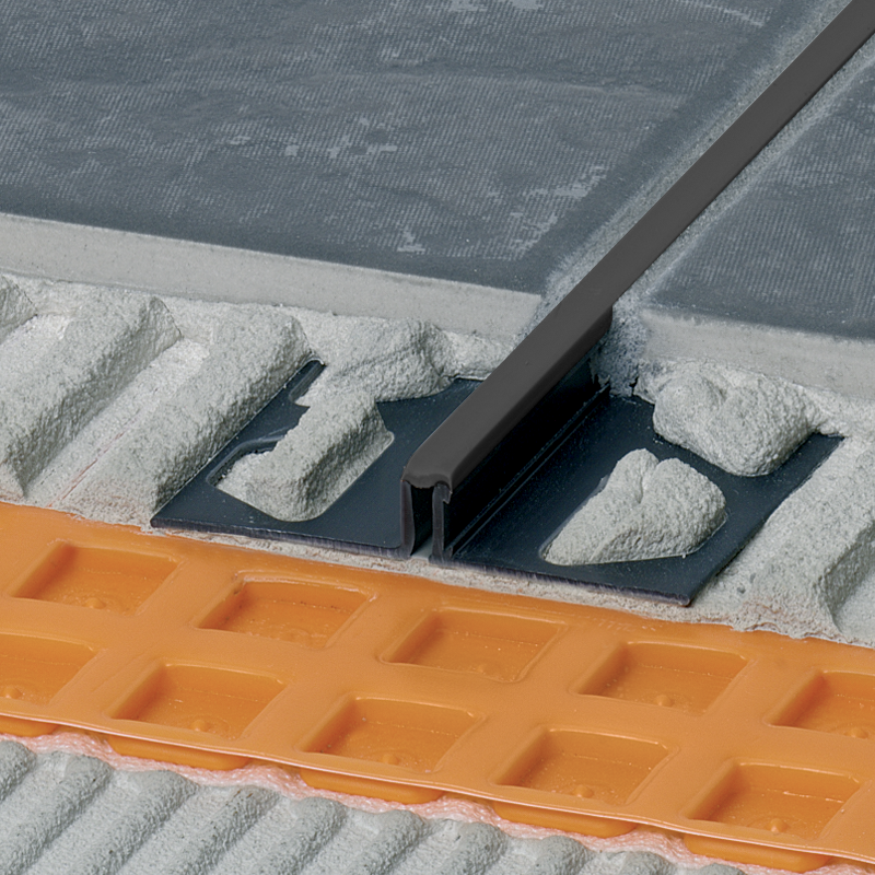 DILEX-BWS PVC Expansion Joint Narrow (Graphite Black Insert) By Schluter