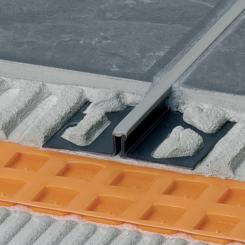Schluter DILEX-BWS PVC Expansion Joint Narrow (Grey Insert) 2.5m Length