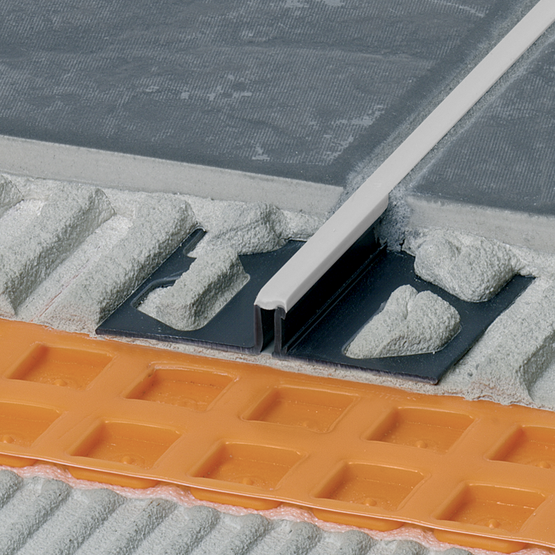DILEX-BWS PVC Expansion Joint Narrow (Pastel Grey Insert) By Schluter