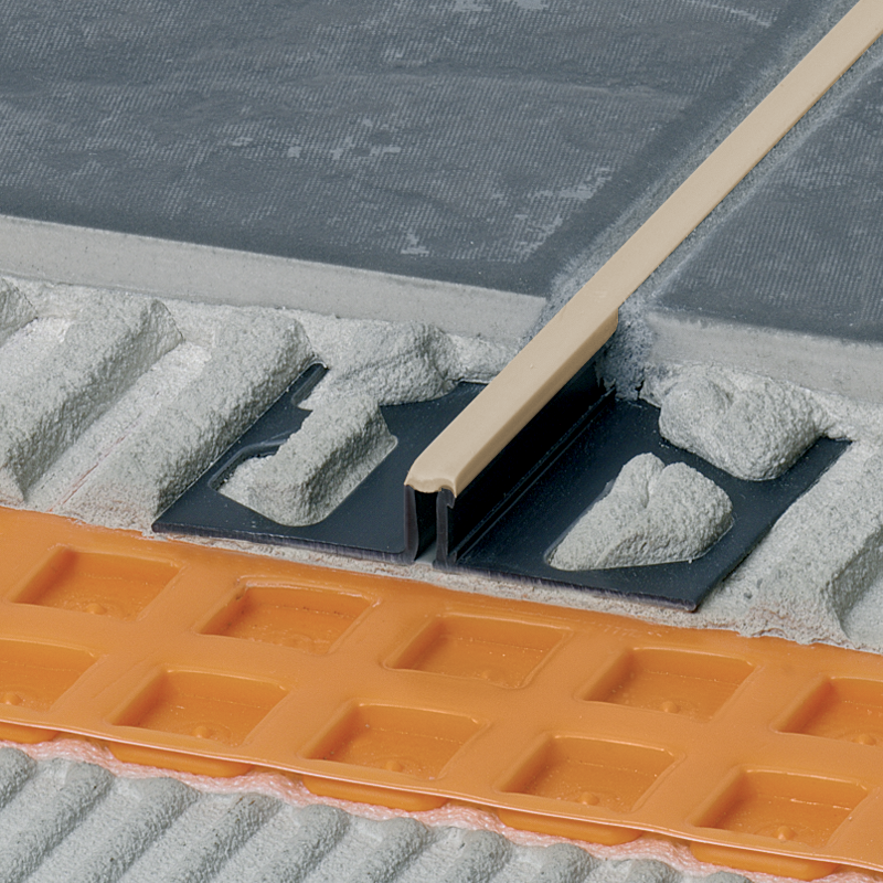 DILEX-BWS PVC Expansion Joint Narrow (Soft Peach Insert) By Schluter