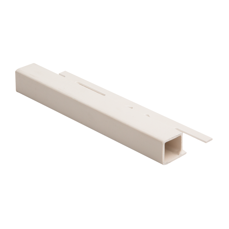Genesis P.V.C Plastic Square Edge Tile Trim Soft Cream TPP