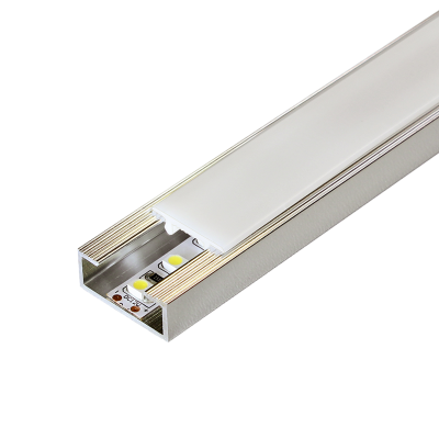 Duralis LED Flush Fit Listello Profile by Dural