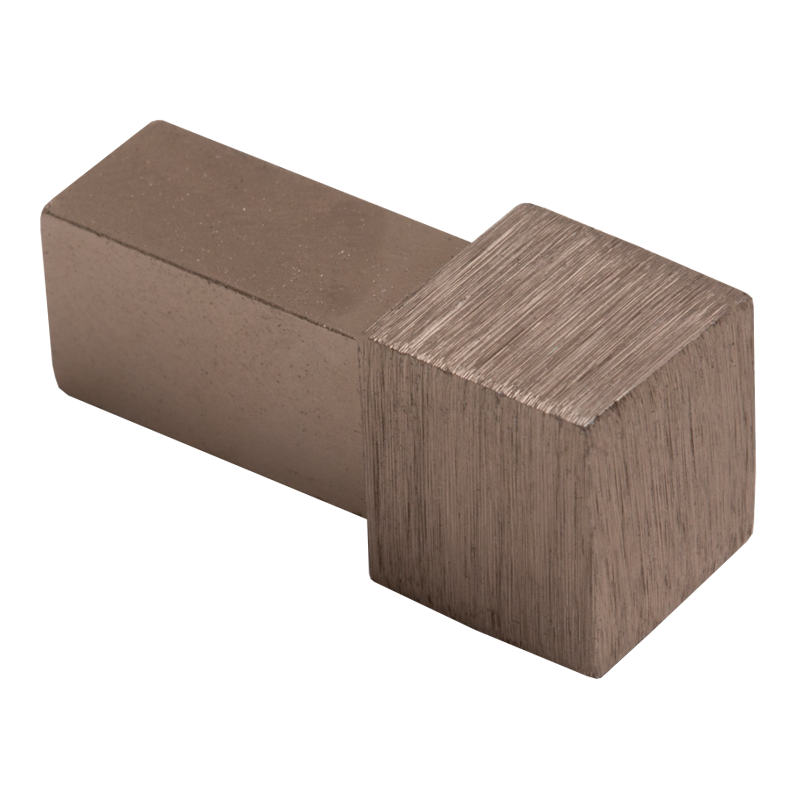 Brushed Copper Square Edge Metal Corners EDP (2 Pack) by Genesis