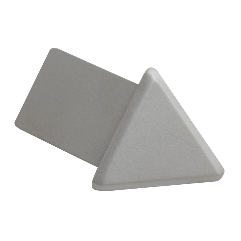 Matt Silver Triangular External Corner (2 Pack) by Genesis
