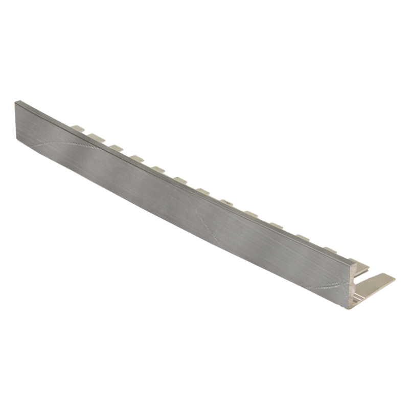 Straight Edge Formable Milled Aluminium Tile Trim EFA by Genesis