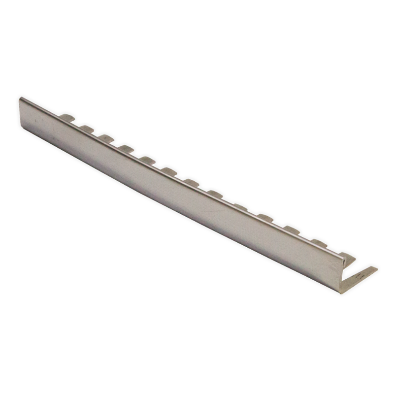 Straight Edge Formable Stainless Steel Tile Trim ESF by Genesis