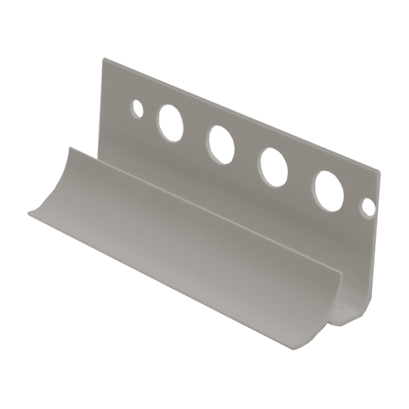 Internal Edging Plastic Tile Trim Grey Eti By Genesis