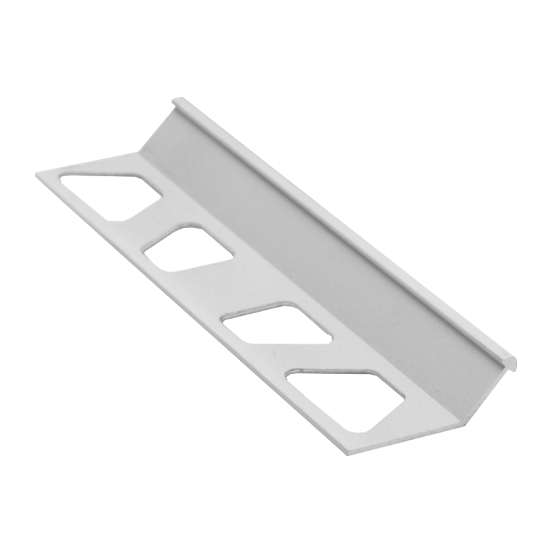 Slim Angle Edge White Colour Coated Aluminum FINEC-MBW By Schluter