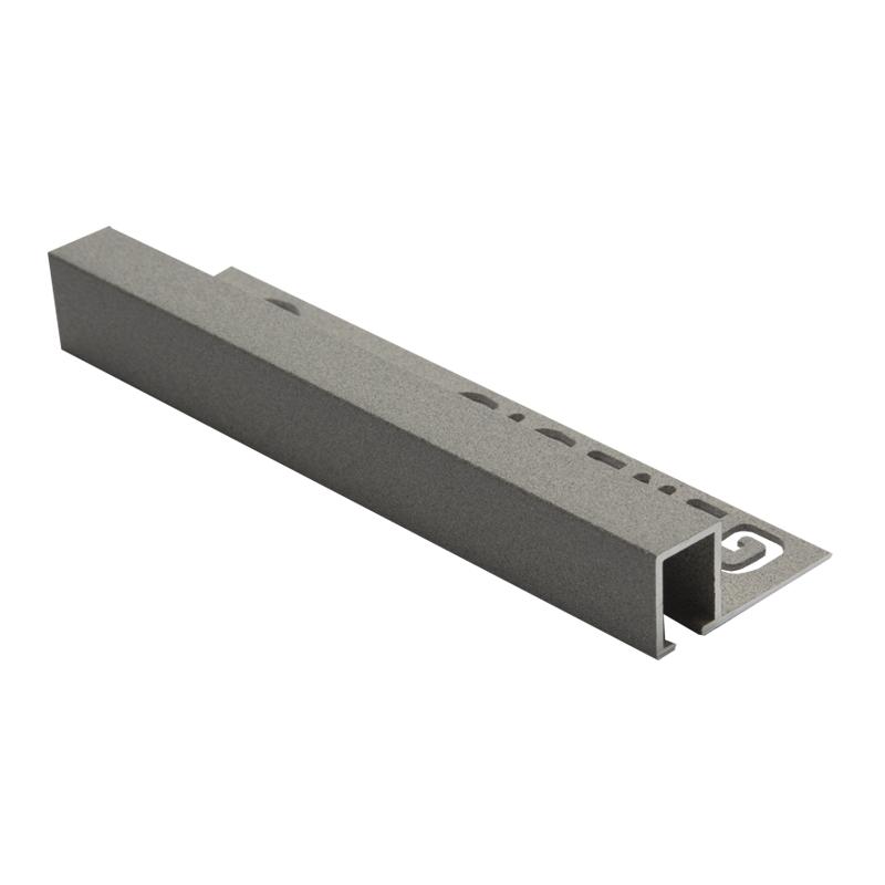 Square Edge Smart Textured Granite TDP Aluminium 2.5m By Genesis