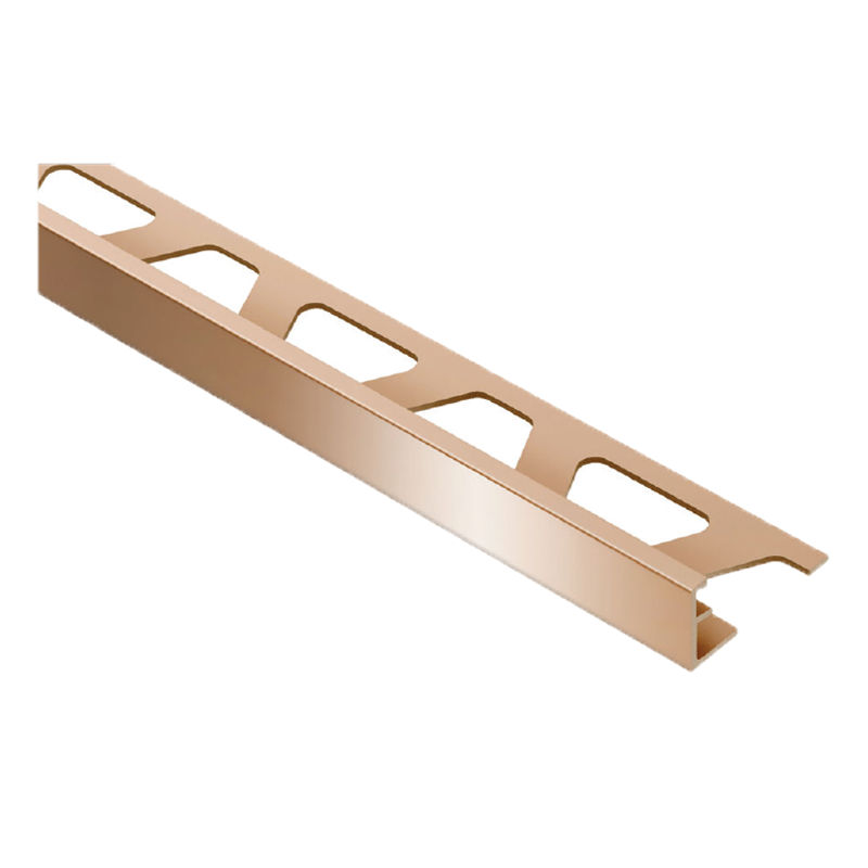 Straight Edge Polished Copper Tile Trim JOLLY-AKG By Schluter