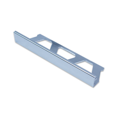 Straight Edge JOLLY-ACG Polished Chrome Anodised Aluminium By Schluter