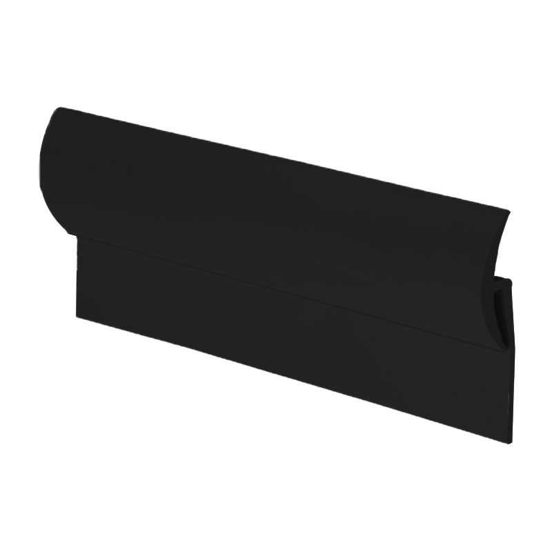 Vinyl to Tile Capping Plastic Strip Black KCS01 by Genesis