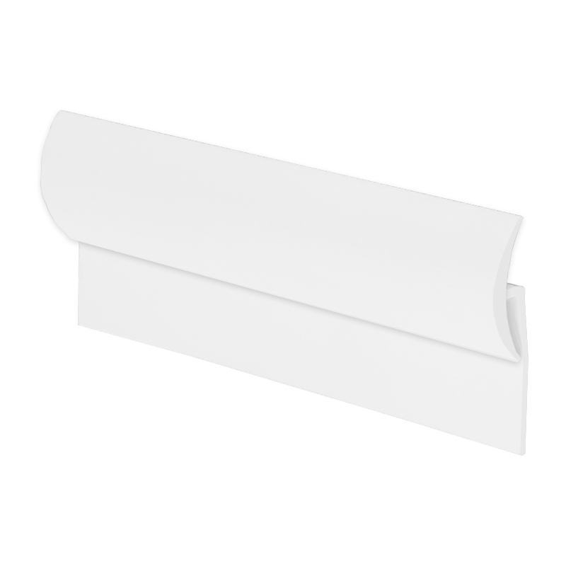 Vinyl to Tile Capping Plastic Strip White KCS01 by Genesis