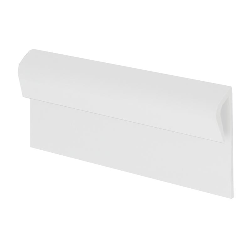 Vinyl Plastic Capping Strip White Kcs By Genesis Buy