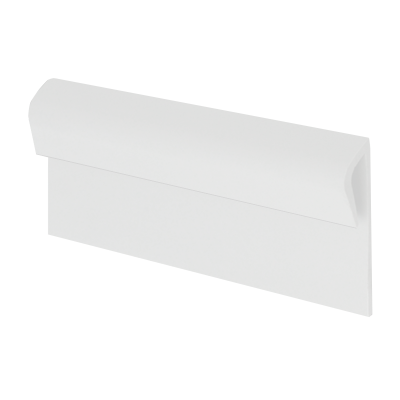 Vinyl Plastic Capping Strip White KCS by Genesis