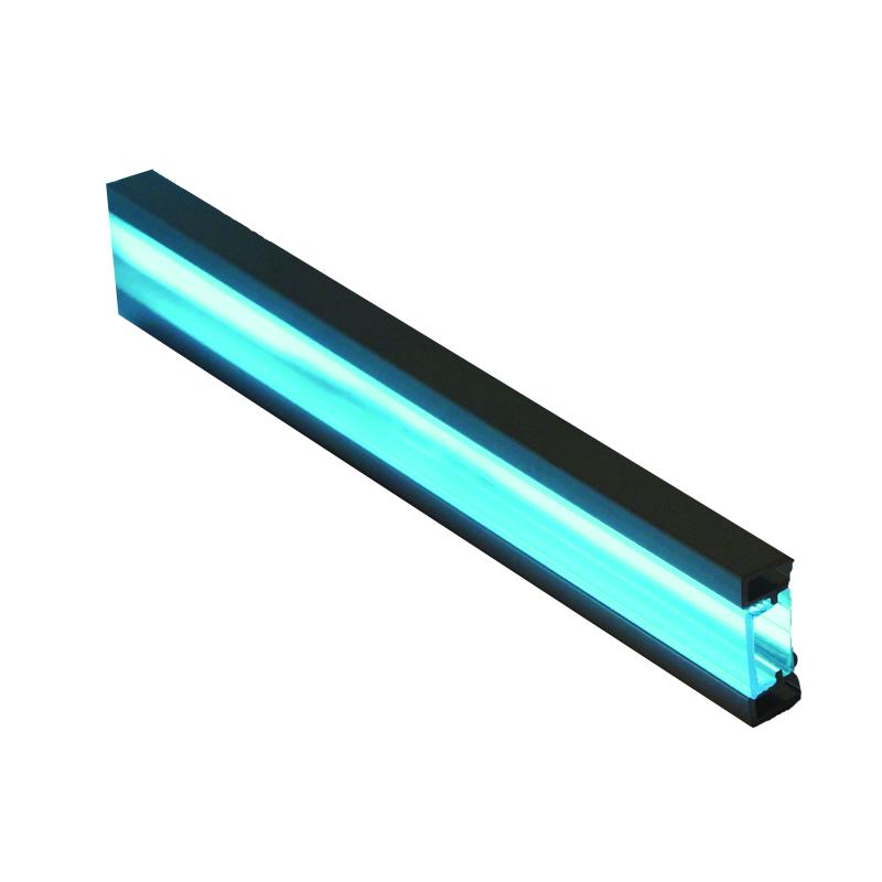 Genesis 24 x 8mm FlatLite® Polished Chrome Flush Fit Listello LLA 2.5m
