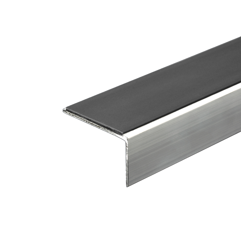 Aluminium Retro Fit Stair Nosing 2.46m Length (multiple choice of colour) by Genesis
