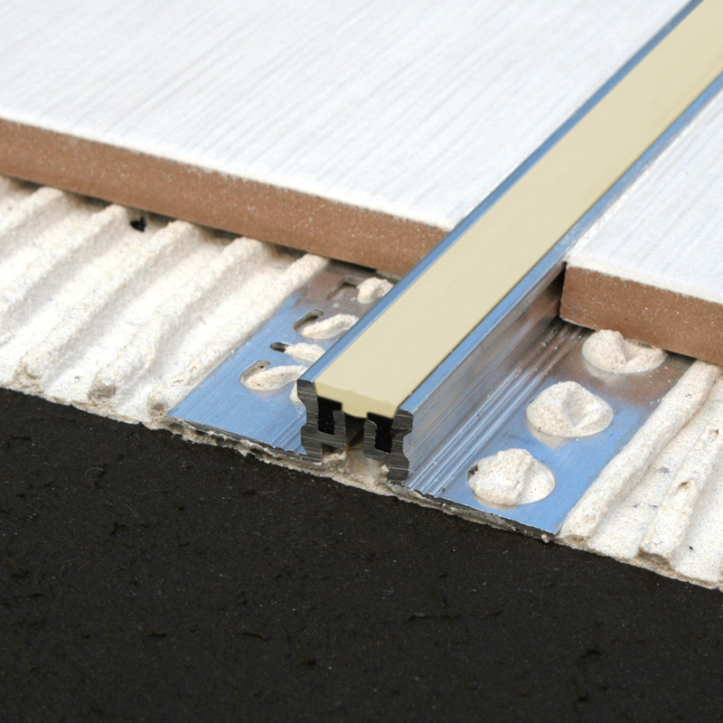 Aluminium Heavy Duty Expansion Joint MSA (Beige Insert) by Genesis