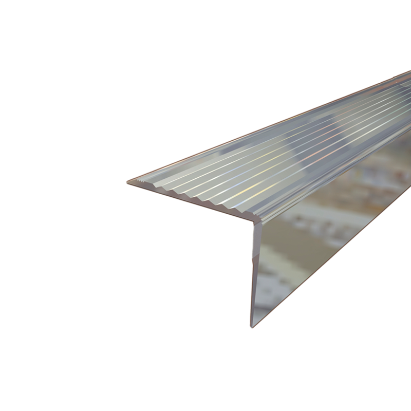 Aluminium Retro Fit Stair Nosing NRA50 2.77m Length by Genesis