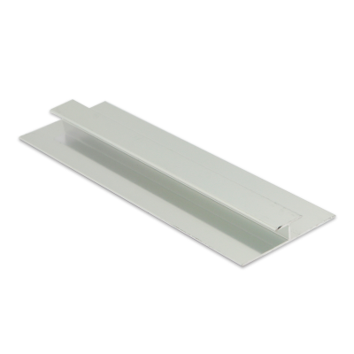 Wet Panel Trim H Joint Matt Silver PHA 2.4m Length By Genesis (choice of sizes)
