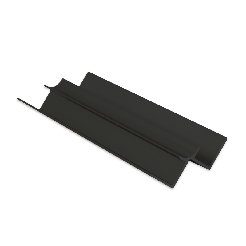 Wet Panel Trim Internal Edge 2 Way Anthracite PIA 2.4m Length (choice of sizes)