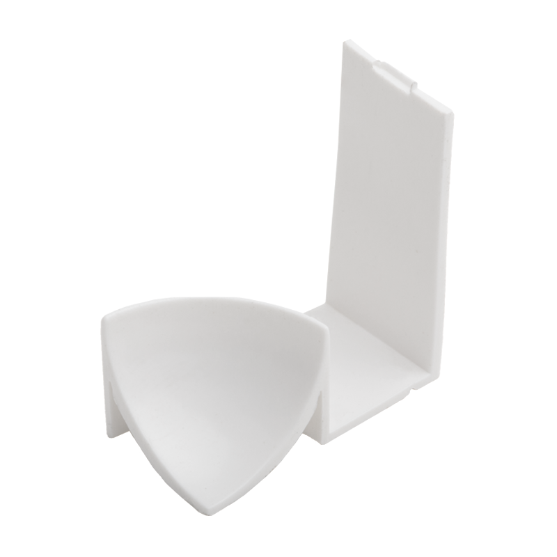 White Plastic Internal Corners PKI Fits EKI By Genesis