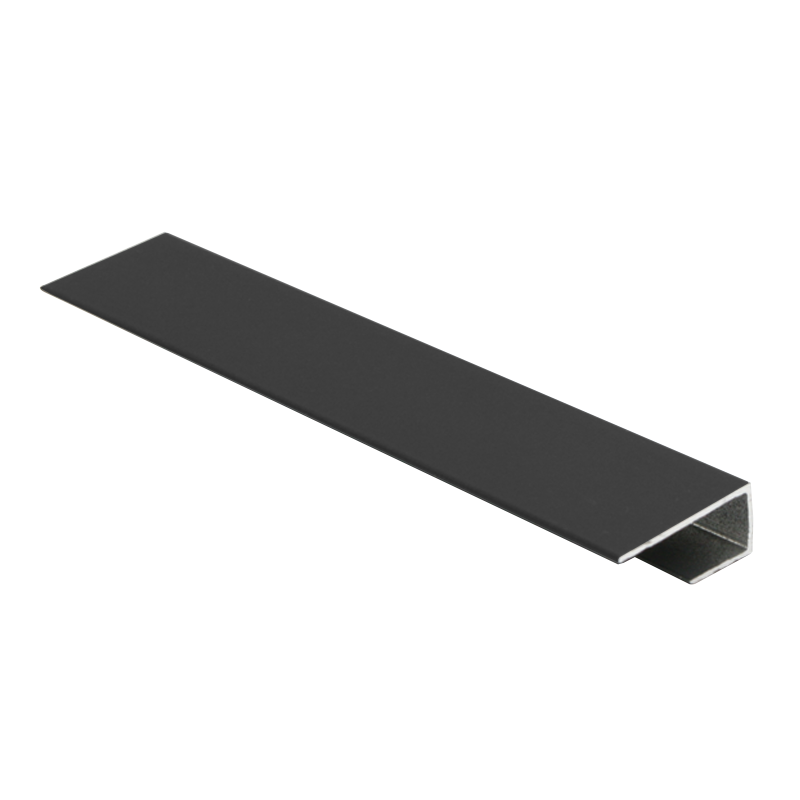 Wet Panel End Cap Anthracite PUA 2.4m Length By Genesis (choice of sizes)