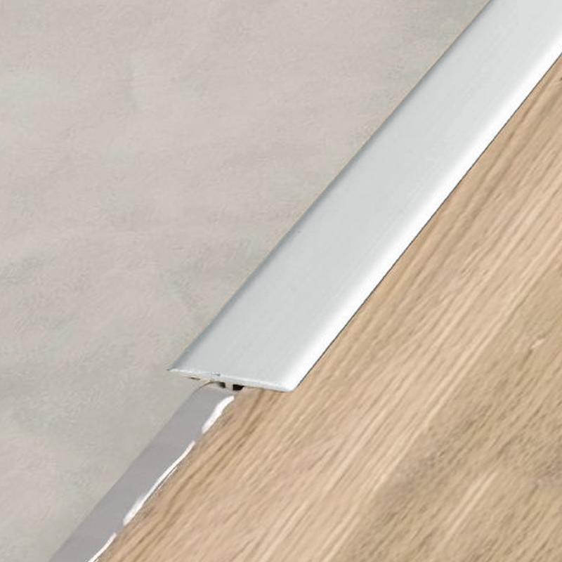 RENO-T-AE Flooring Transition T Bar Anodised Aluminium 1.0m Length By Schluter
