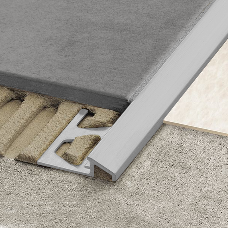 Reno Aeu Flooring Transition Ramp Anodised Aluminium 2 5m