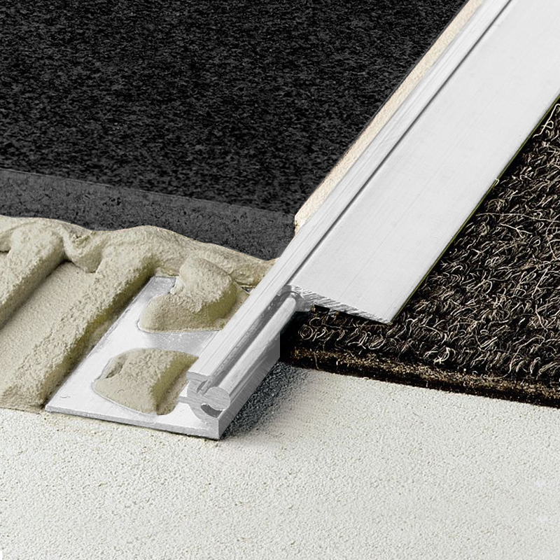 Reno Aev Tile To Carpet Vinyl Bar Anodised Aluminium 25m Length