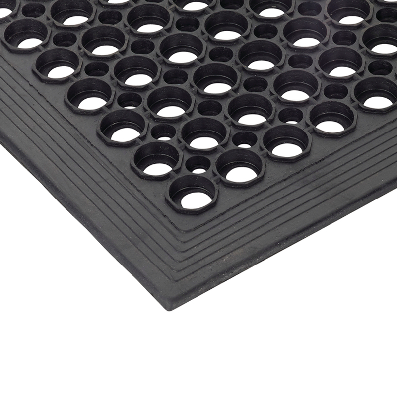Entrance Rubber Grating Beveled Edge Mat