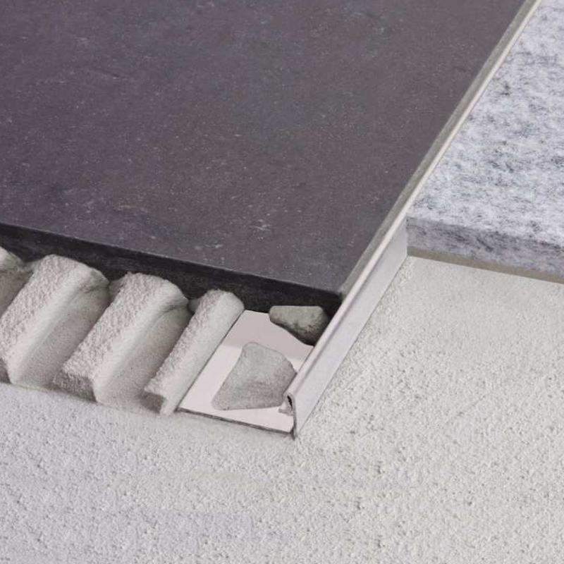 Straight Edge SCHIENE-ES Stainless Steel V2A by Schluter