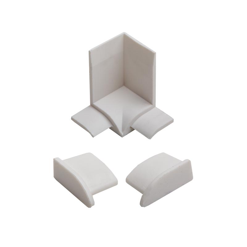 Over Tile Bath Seal Plus SSP Mitre Piece & End Caps Set SMP100.01 By Genesis