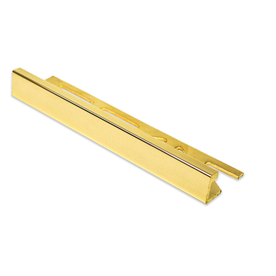 Sol Gold Straight Edge 24K Gold Tile Trim 11mm 2.5m Length