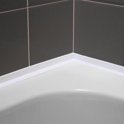 eezi seal self adhesive over tile bath seal sor by genesis. Black Bedroom Furniture Sets. Home Design Ideas