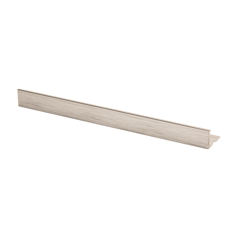 Straight Edge Brushed Silver Tile Trim ASE by PREMTOOL