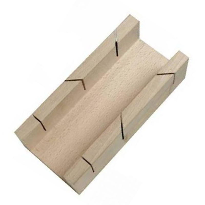 Wooden Mitre Box 190mm 408978